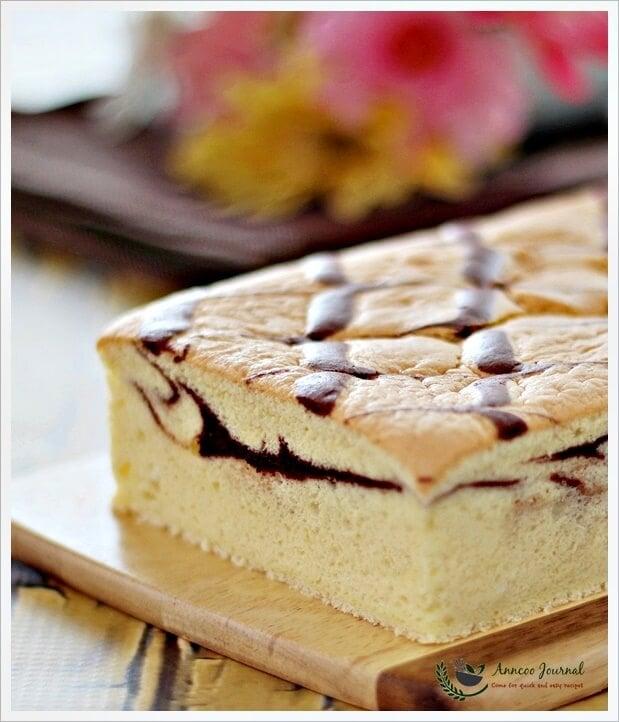 baked egg cake 020