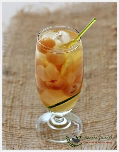 Longan Lemon Lime Drink