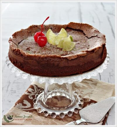 Flourless Chocolate Lime Cake – Nigella Lawson 无麸质巧克力蛋糕