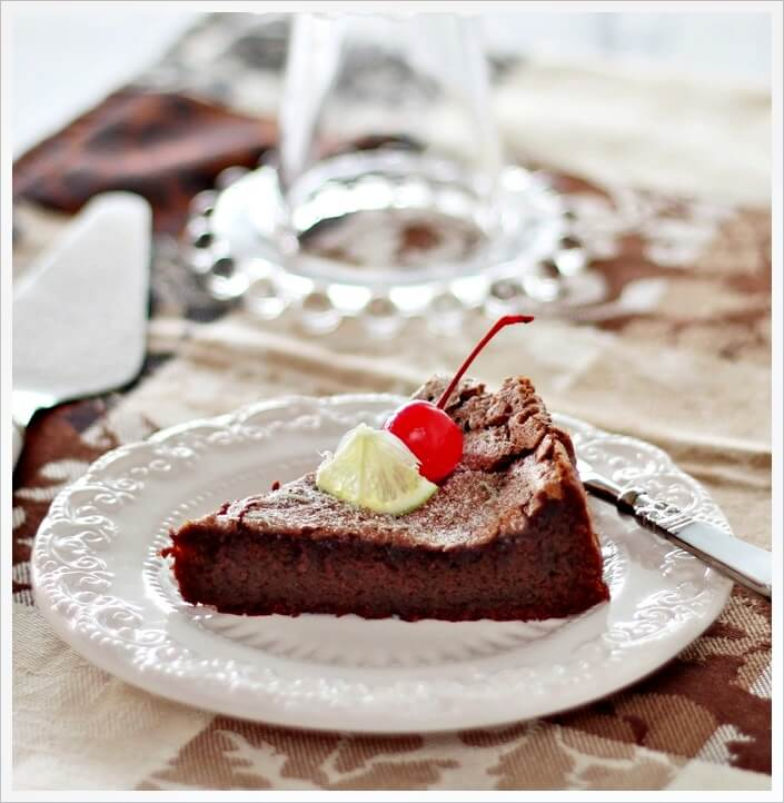 Nigella Flourless Chocolate Lime Cake