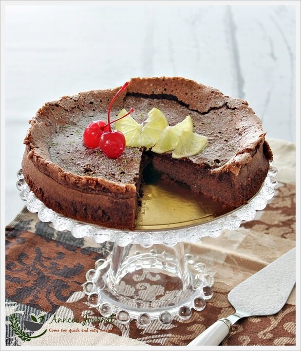 Nigella Lime Chocolate Cake