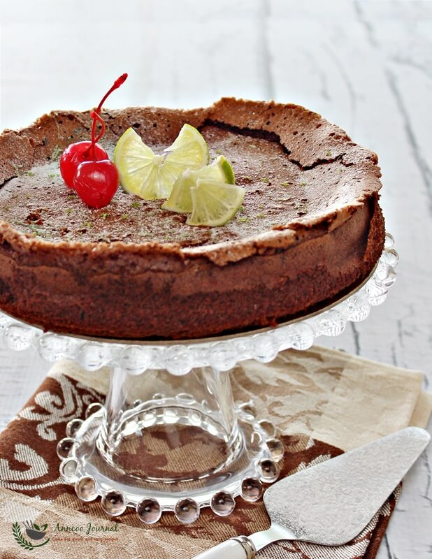 Flourless Chocolate Lime Cake Nigella Lawson 无麸质巧克力蛋糕