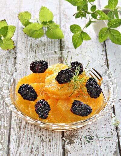 Blackberry and Orange Salad
