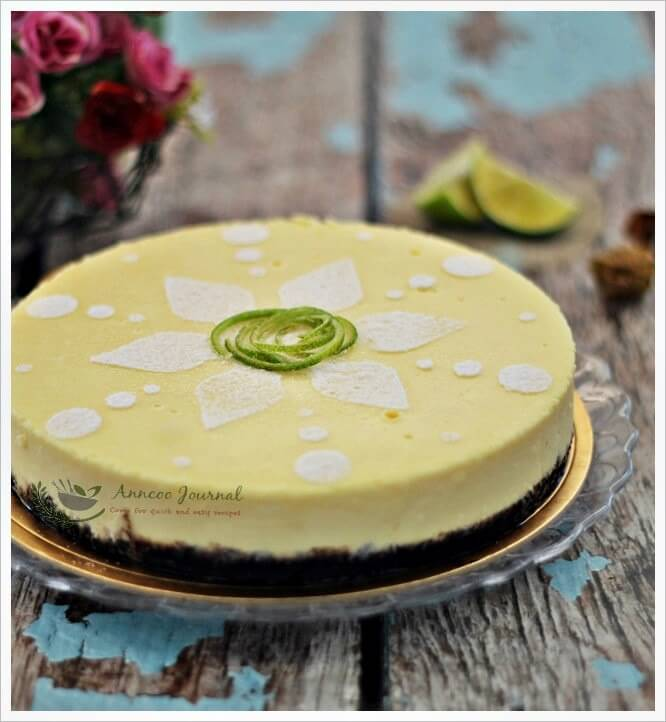 choc lime cheesecake 015