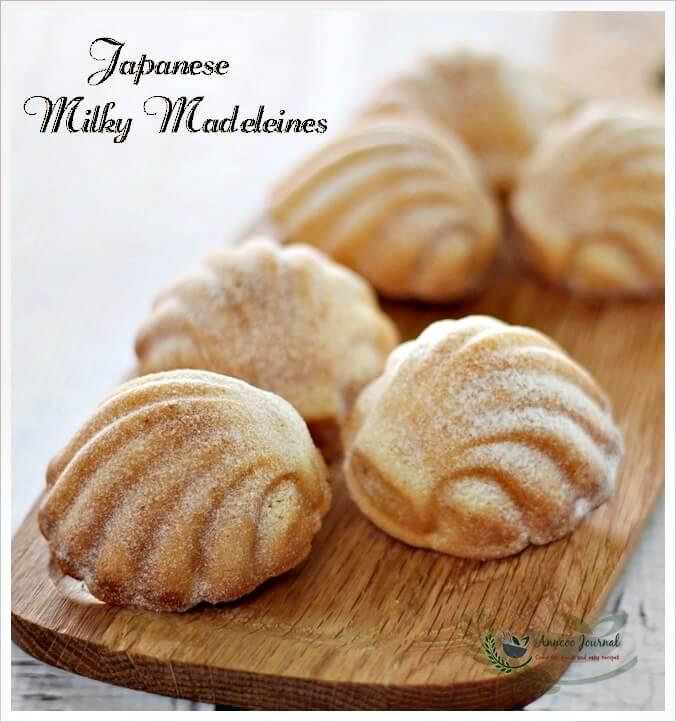 Jap milky madeleines 062