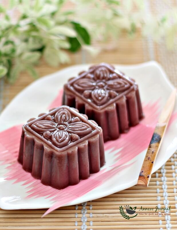 easy red bean jelly