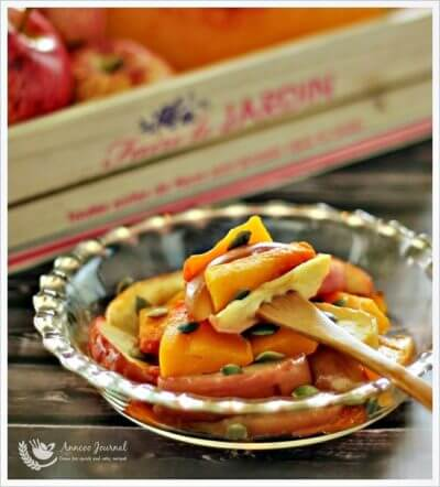 Roasted Pumpkin and Apples 香烤南瓜与苹果