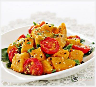 Miso Pumpkin Salad 味噌南瓜莎拉