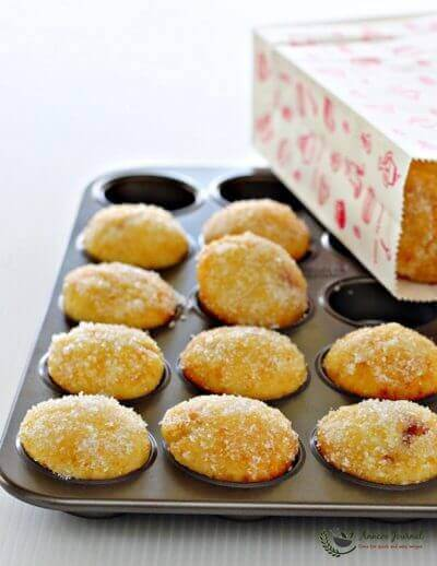 Jam Doughnut Muffins 果酱多拿玛芬