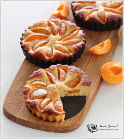 Gluten Free Apricot Almond Tart 无麸杏脯杏仁挞