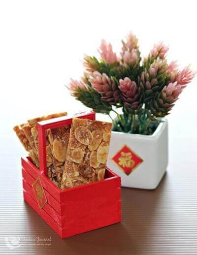 Almond Florentines 杏仁脆饼片