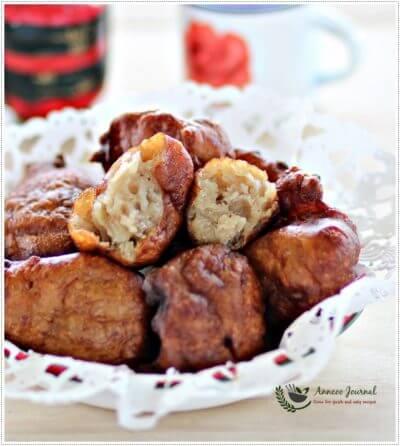 Kueh Kodok (Deep Fried Banana Balls) 炸香蕉丸