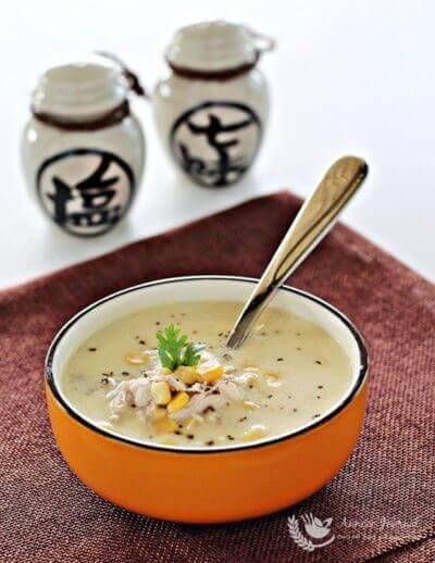 Chicken Corn Soup 鸡肉玉米汤