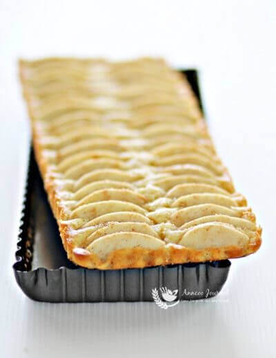 Apple Cake Tart 苹果蛋糕挞