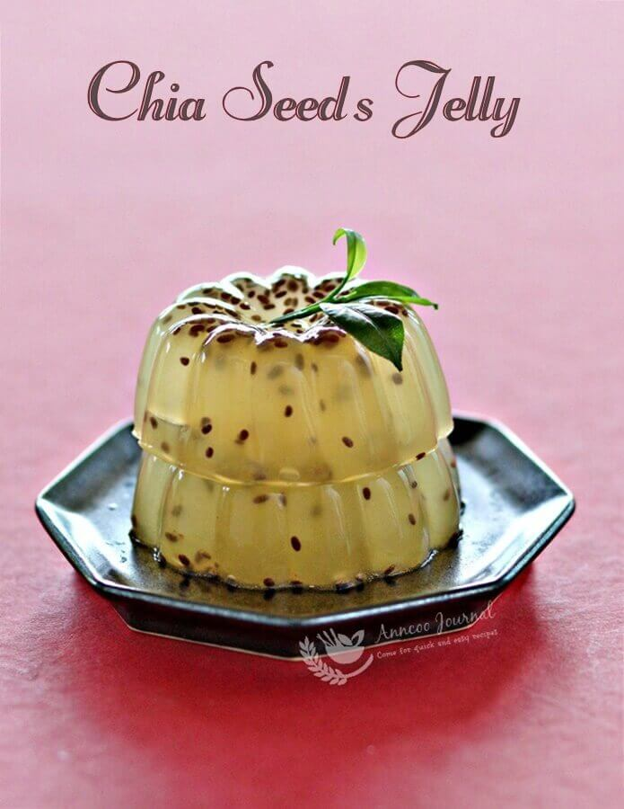 chia seeds jelly