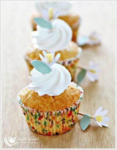 Orange Cupcakes 香橙杯子蛋糕