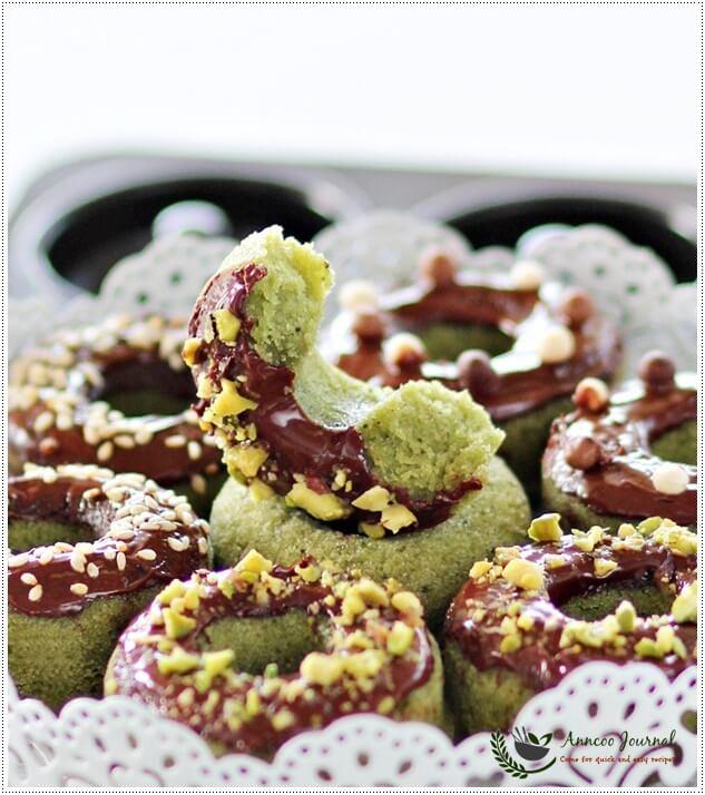 matcha donuts 055