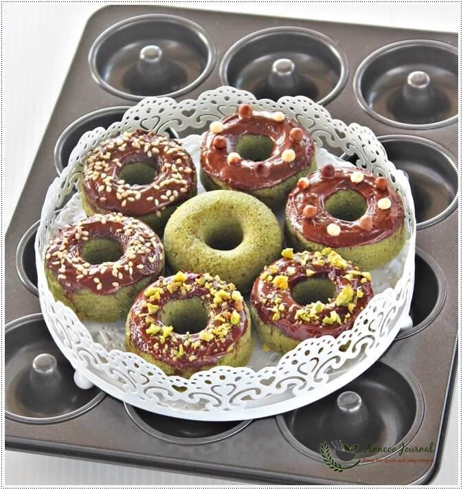 matcha donuts 067