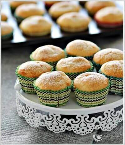 Mini Durian Muffins 迷你榴莲玛芬