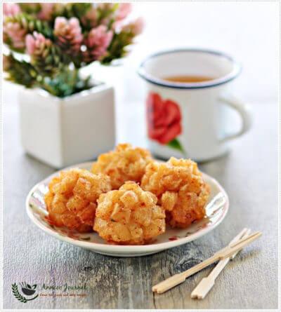 Deep Fried Seafood Balls 酥炸海鲜球