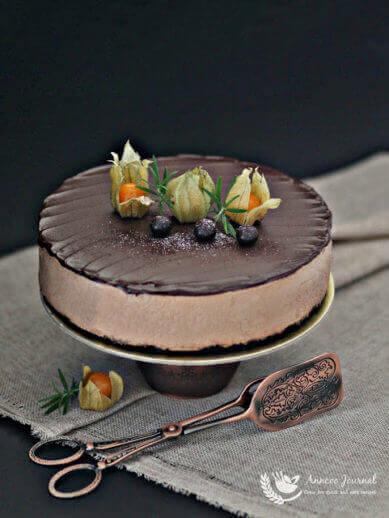 No-Bake Milo Chocolate Cheesecake 免烤美綠巧克力乳酪蛋糕