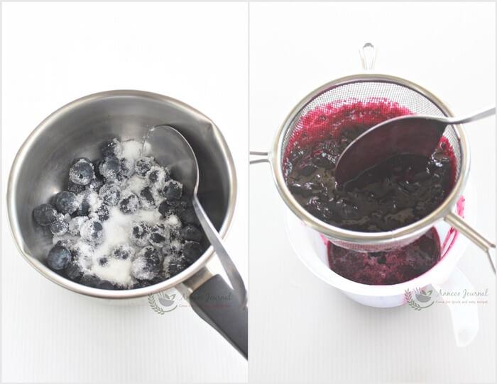 no-bake blueberry yogurt cheesecake 1a
