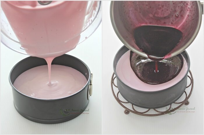 no-bake blueberry yogurt cheesecake 1d