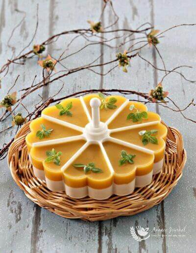 Mango Coconut Jelly 芒果椰香果冻