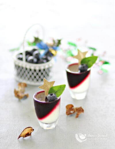 Blueberry Lime Jelly 蓝莓酸柑果冻