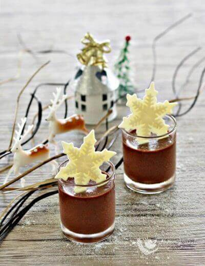 Easy Chocolate Dessert 简易巧克力甜品
