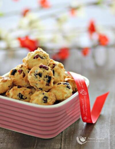 Berry cookies 莓果曲奇
