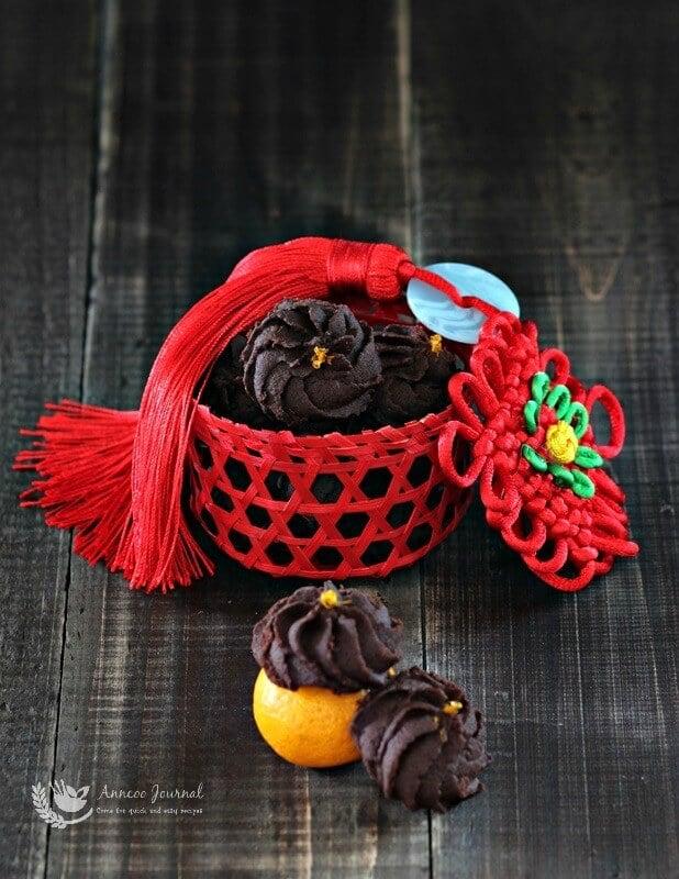 chocolate orange cookies 066