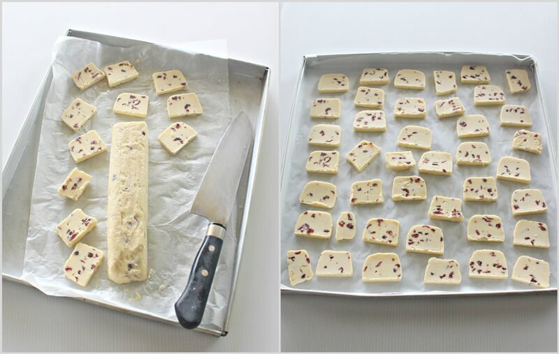 cranberry biscuits - a