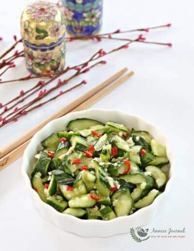 Mashed Cucumber Salad 拍黄瓜沙拉