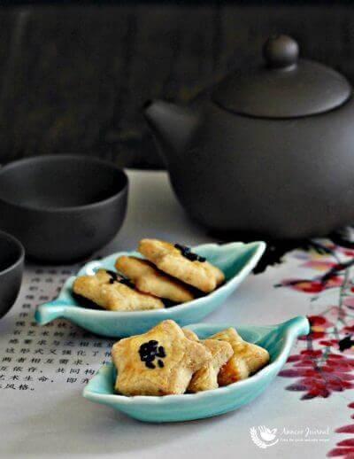 Salted Egg Yolk Cookies 咸蛋黄酥饼
