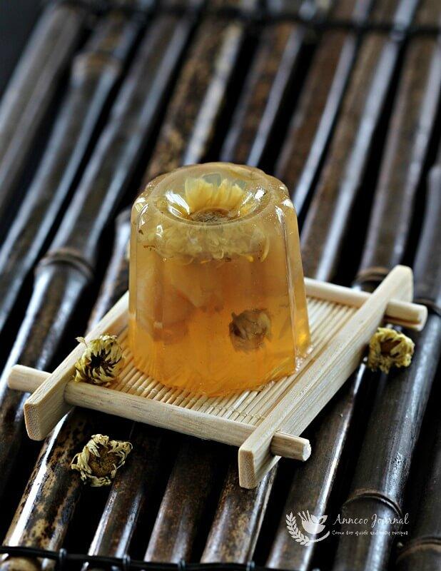 chrysanthemum longan jelly 117