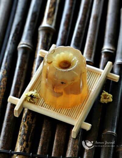 Chrysanthemum & Longan Jelly 菊花龙眼果冻