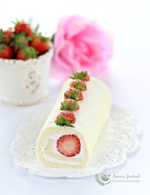 egg white roll cake