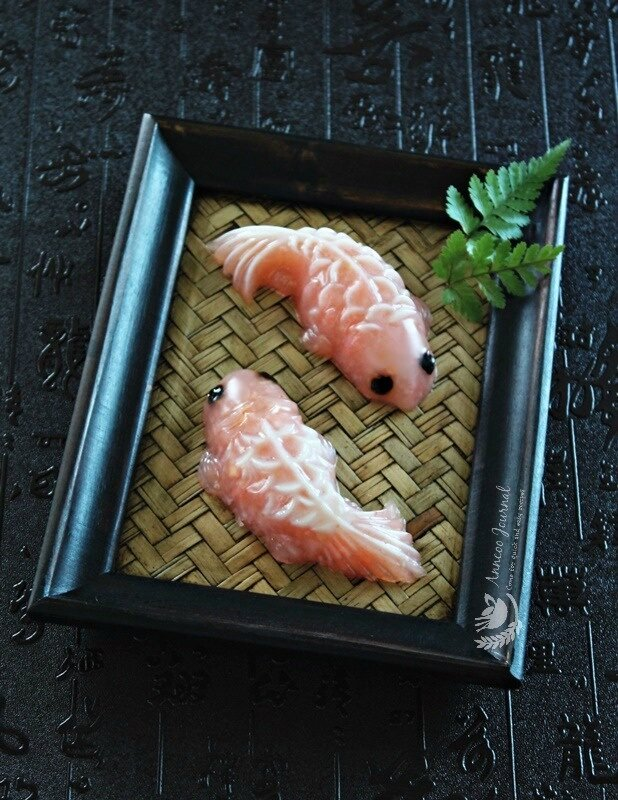 lychee koi fish jelly 054
