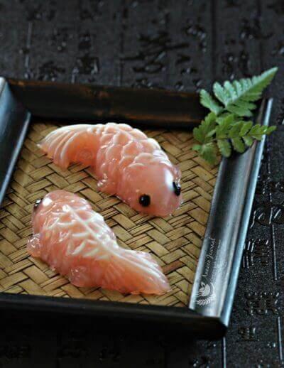 Lychee Koi Fish Jelly 荔枝鲤鱼果冻