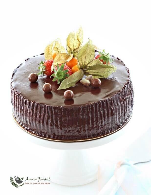 Chocolate Chiffon Cake Without Cream Of Tartar