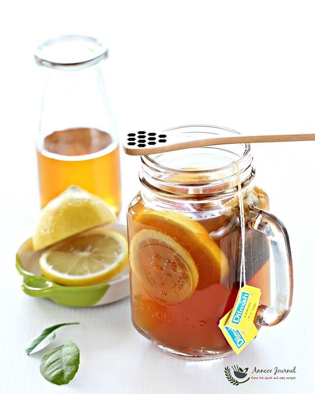 Honey Lemon Ginger Tea 蜂蜜柠檬姜茶 - Anncoo Journal