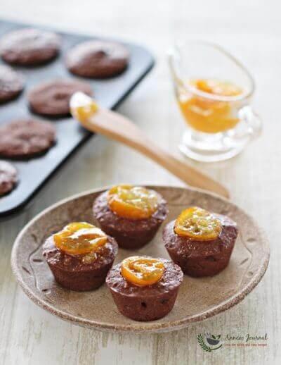 Kumquat Chocolate Friands 金吉巧克力费南雪