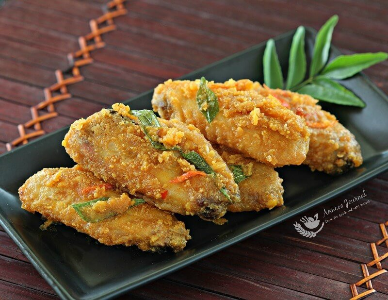 salted egg yolk wings 047