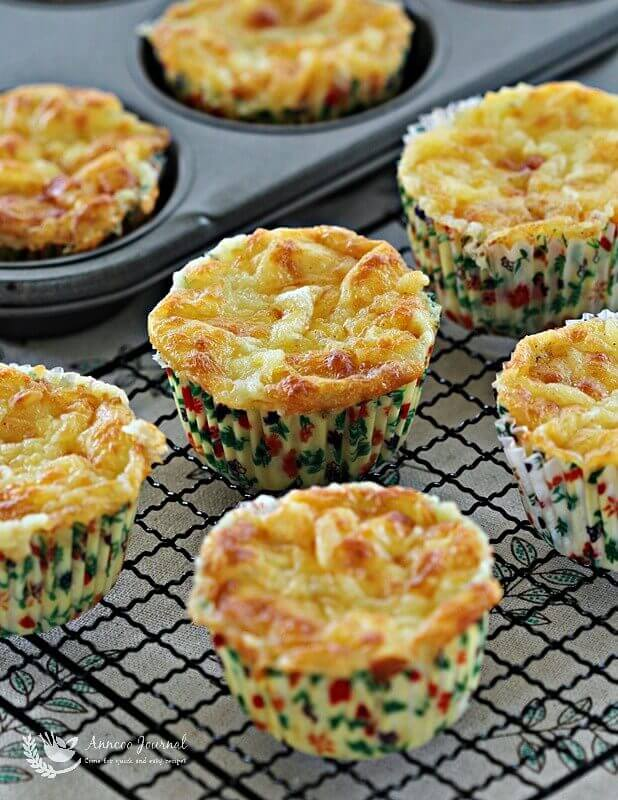 bacon potato muffins