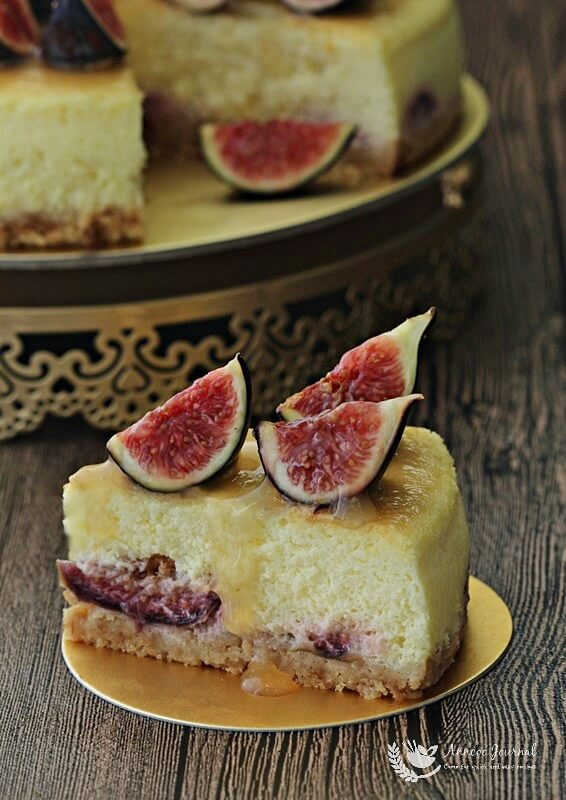fig and honey cheesecake 104b