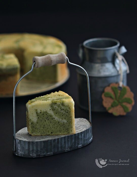 A Marble In A Cup Of Honey : Matcha marble cake 抹茶大理石蛋糕 anncoo journal