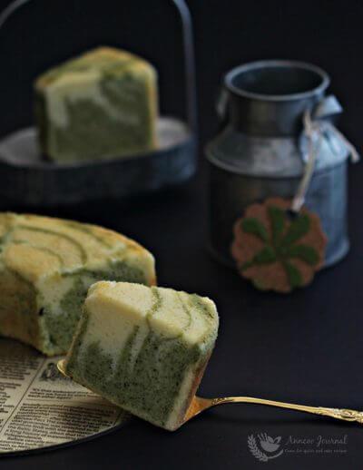 Matcha Marble Cake 抹茶大理石蛋糕
