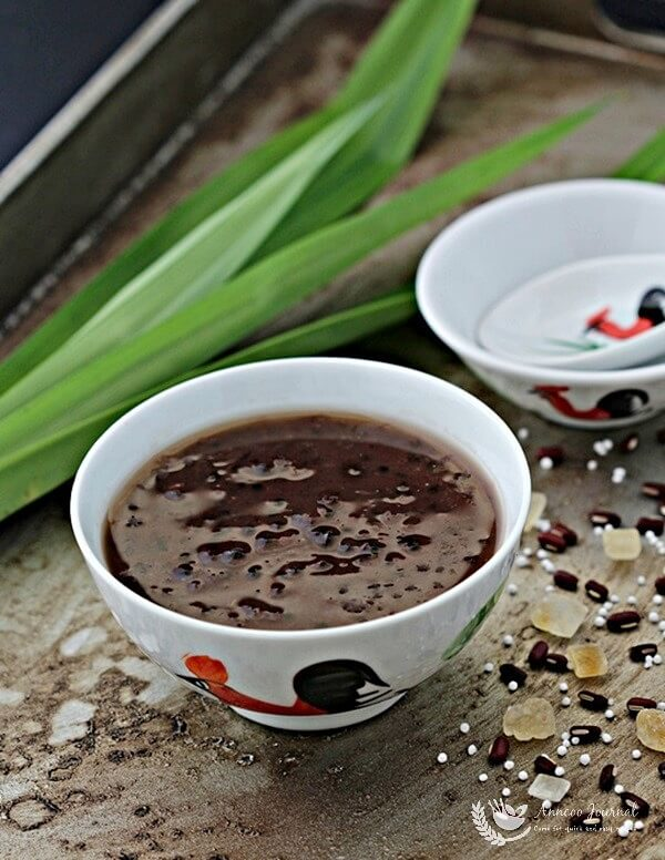 red bean soup with sago