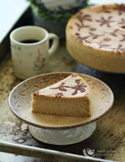 Chiffon Sponge Cake 戚风海绵蛋糕